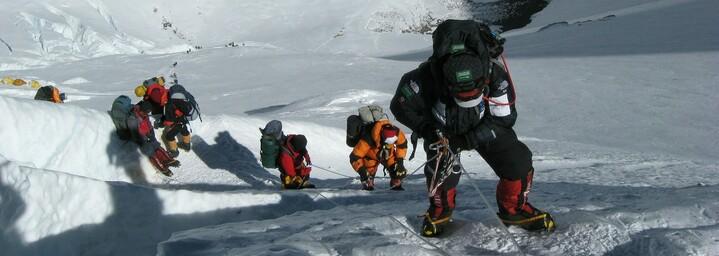 Mount Everest - Lhotse Eiswand
