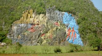 Prähistorische Mauer Kuba