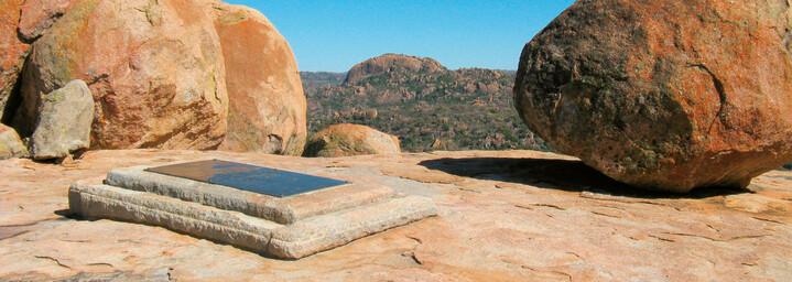 Grabmal von Cecile Rhodes im Matobo Nationalpark, Simbabwe