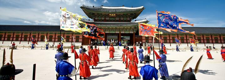 Gyeongbokgung Palast - Wachablösung