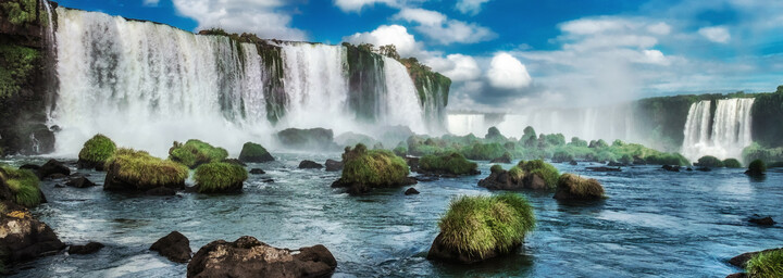 Iguazú Wasserfälle Brasilien