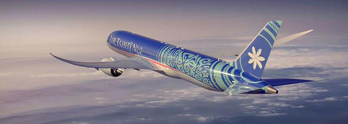 Air Tahiti Nui Flugzeug