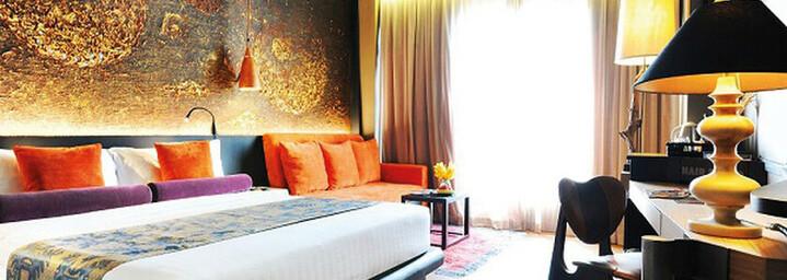 Deluxe-Zimmerbeispiel des Siam@Siam Design Hotel Bangkok