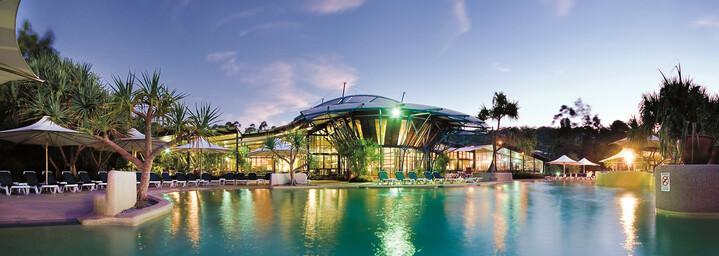 Außenansicht - Kingfisher Bay Resort Fraser Island