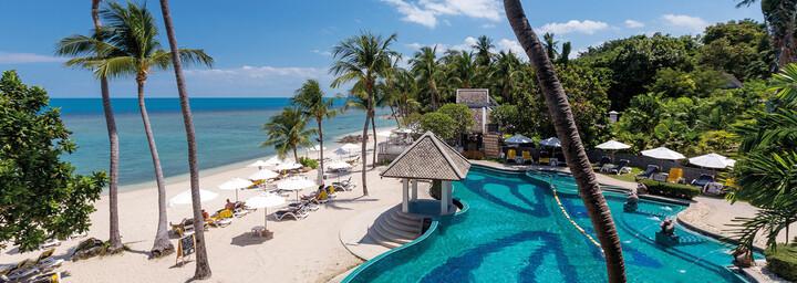 Pool & Strand Centara Villas Samui