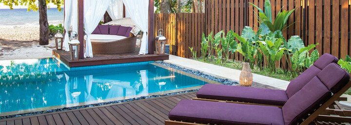 Privater Pool The H Resort Beau Vallon Beach