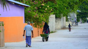 Reiseberichte Malediven: Fischerdorf