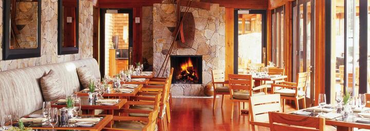 Restaurant der Calistoga Ranch