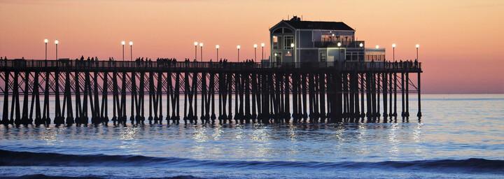 Pier nahe San Diego