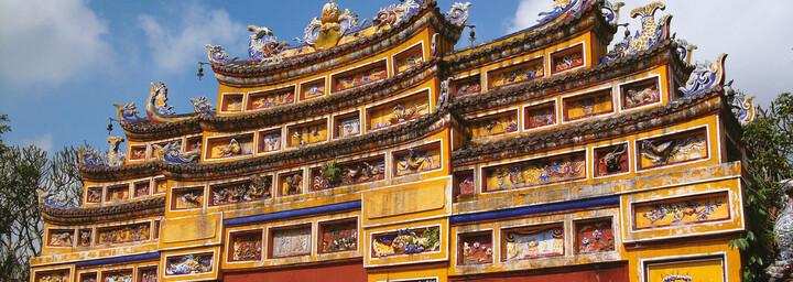 Kaiserliche Zitadelle Hue Vietnam