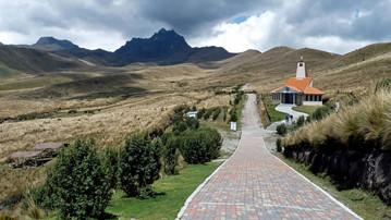 Ecuador Reisebericht - Hausberg Pichincha bei Quito