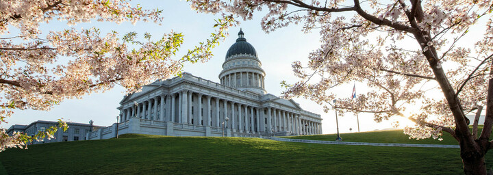 Utah State Capitol in Salt Lake City