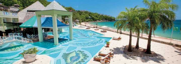 Sunset Bluff Millionaire Butler Villa Suite with Private Pool
