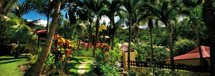 Habitation Grande Anse - Gartenanlage