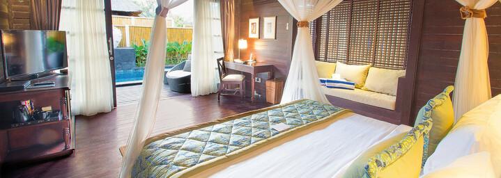 Pool-Bungalow Beispiel des Lembongan Beach Club & Resort