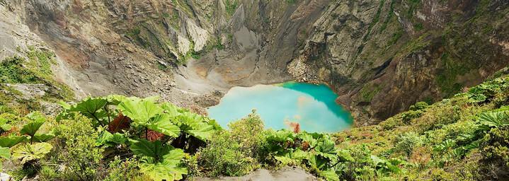 Kratersee Vulkan Irazú Costa Rica