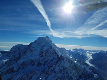 Reisebericht Neuseeland: Rundflug über die Berg- und Gletscherwelt Neuseelands