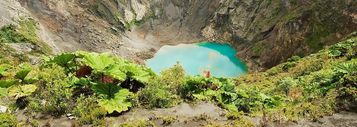 Kratersee des Vulkan Irazú