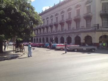 Kuba Reisebericht: Der Parque Central in Havanna