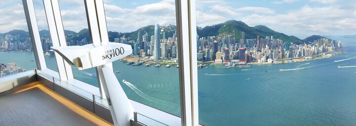 Hong Kong Aussichtsplattform Sky100