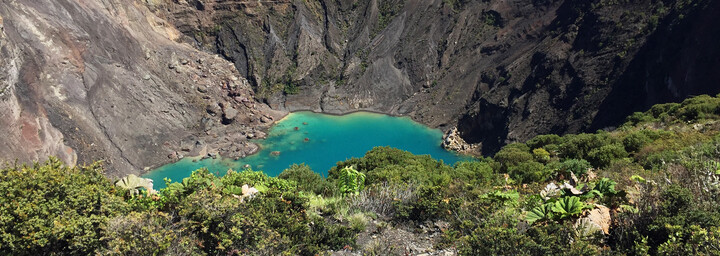 Irazú Vulkan Costa Rica