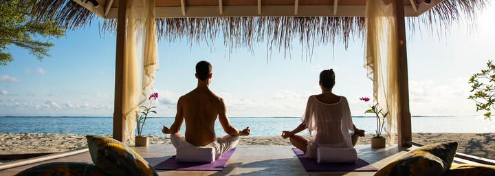 Kanuhura - A Sun Resorts Yoga am Strand