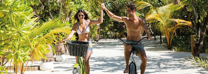Kanuhura A Sun Resort Maldives - Fahrradfahren