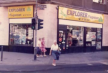 Explorer Zentrale seit 1979 in Düsseldorf