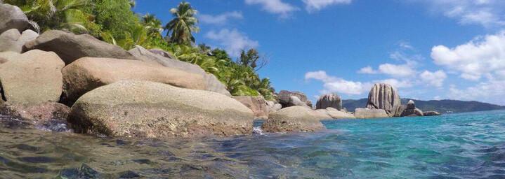 Reisebericht Seychellen - Typische Granitfelsen auf Félicité