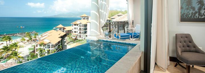 Beispiel Italian Oceanview 1 Br. SkyPool Butler Suite