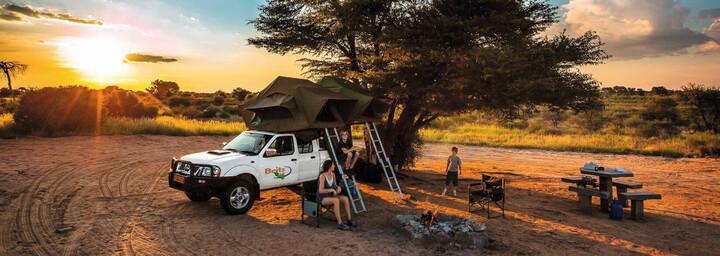 Britz Allrad-Camper Afrika