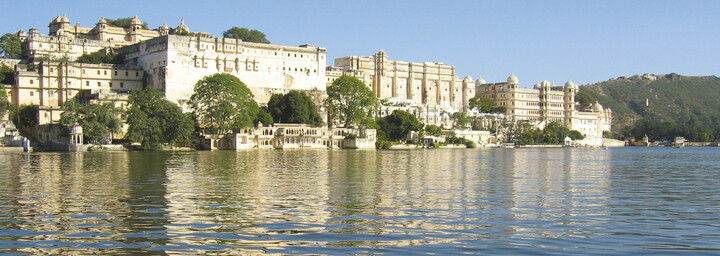 Stadtpalast am Pichola See, Udaipur