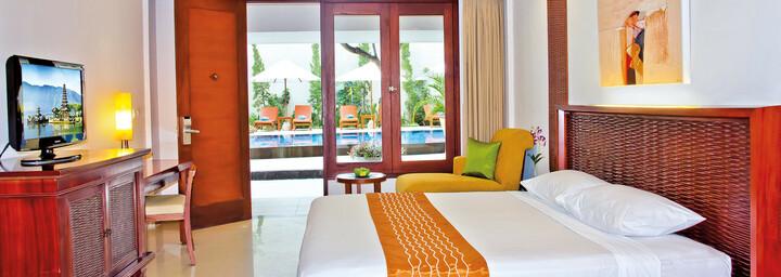 Deluxe-Zimmerbeispiel des The Rani Hotel & Spa