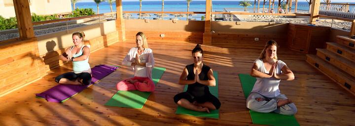 Yoga im Breakers