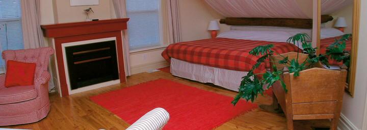 Beispielzimmer des Little Shemogue Country Inn