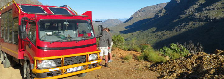 Safari Truck in Cederberg Mountains