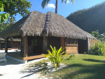 Reisebericht Südsee : Kleine Pension auf Huahine