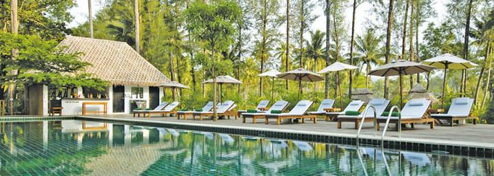 Pool des Haadson Resort Khao Lak