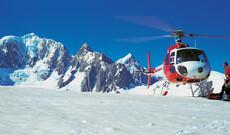 Panoramaflug und Wanderung am Fox Gletscher