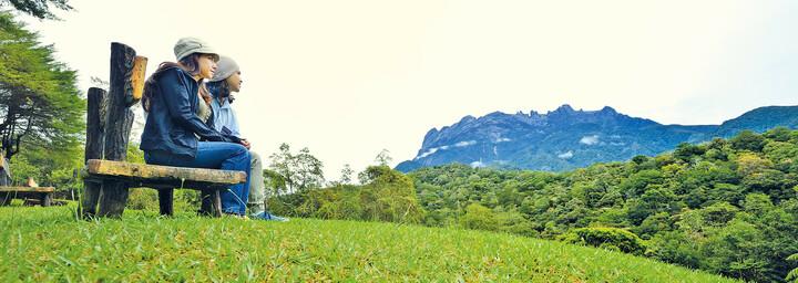 Region um den Mount Kinabalu