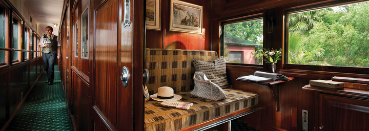 Rovos Rail Pullman Abteil