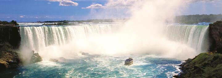 Bootstour zu Niagarafällen