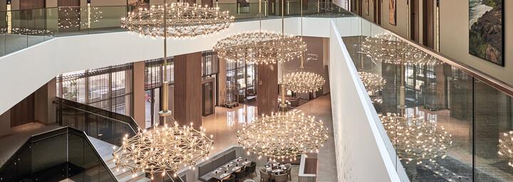 Atrium des Mysk Al Mouj by Shaza Hotel in Muscat