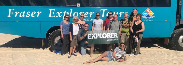 Reisebericht Australien: Gruppenfoto der Australien Reisegruppe