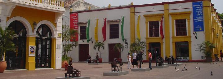 Plaza San Pedro in Cartagena