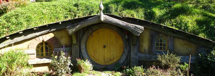 Hobbit/Herr der Ringe Filmset