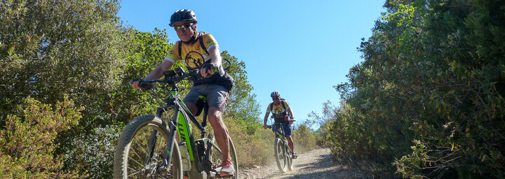 Sardinien Mountainbiker
