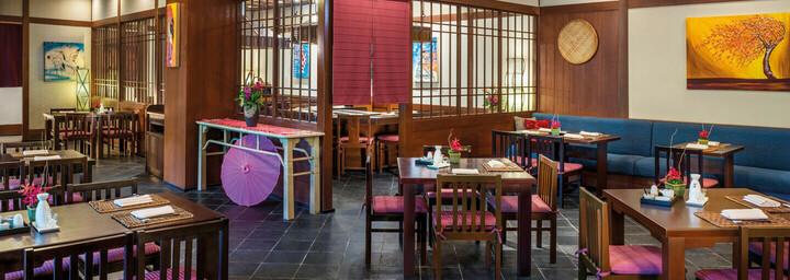 Restaurant des The Andaman - A luxury Collection Resort auf Langkawi