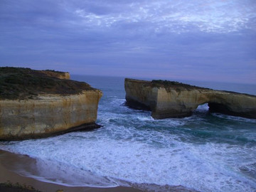 Reisebericht Australien: Felsformation London Bridge im Port Campbell Nationalpark