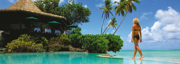 Aitutaki Lagoon Private Island Resort Pool